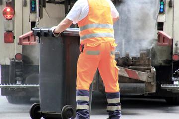 Müllmann, Müllabfuhr