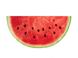 slice watermelon isolated