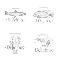 Sea food label