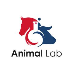 Elegant Veterinary Farm Animal Health Research Logo