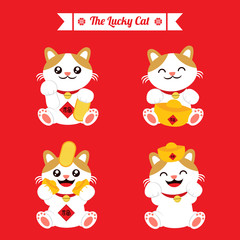 The Lucky Cat Icon