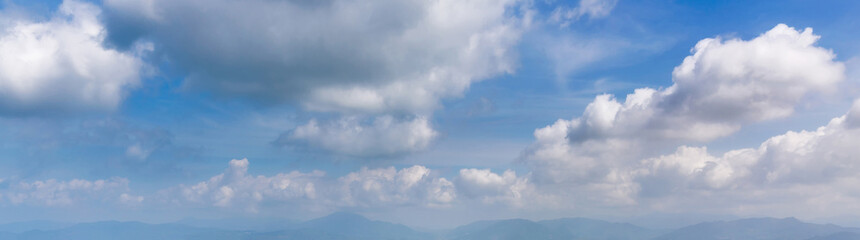Sky and Cloud with Mountain