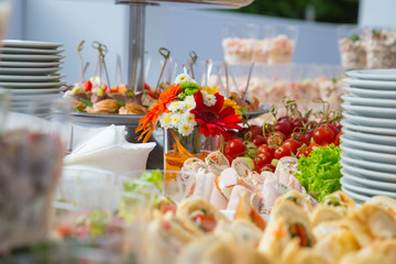 buffet table corporate