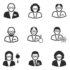 scientist icons