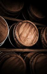 winemaking barrel 3d illustration