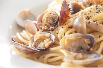スパゲッティーニのヴォンゴレ