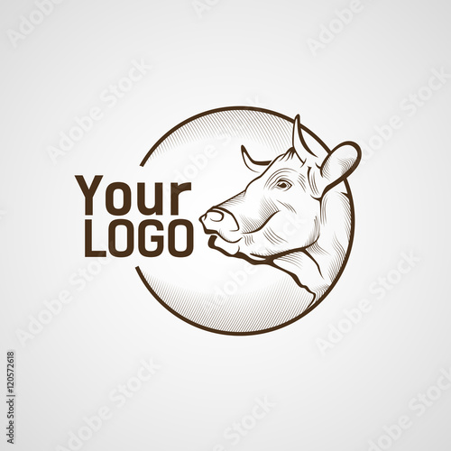 cow head logo wwwpixsharkcom images galleries with a