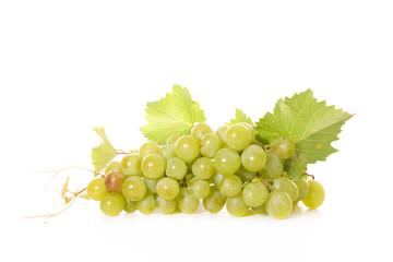 green grape and leaf