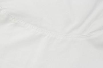 Closeup White fabric texture