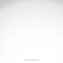 White and gray gradient studio abstract background