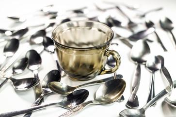 many coffee spoon
