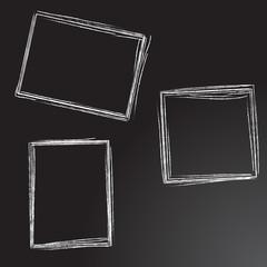 Hand drawn vintage frames