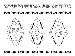 Vector Tribal Emblems