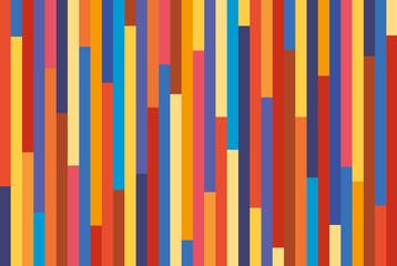 Fond - Lignes multicolores decalées