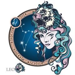 Leo. Zodiac sign