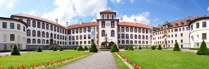 Panoramafoto Schloss Elisabethenburg in Meiningen Wall mural