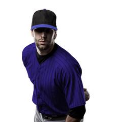 Wall Mural - Pitcher Baseball Player
