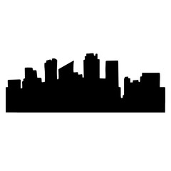 Very high quality original trendy  vector illustration of city s