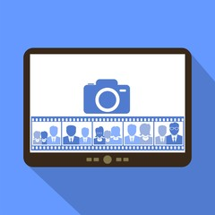 Camera off - Tablet Icon