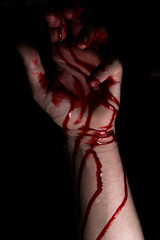 Bloody Hands Darkness