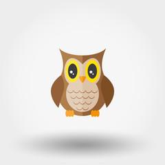 Owl. Stuffed toy.