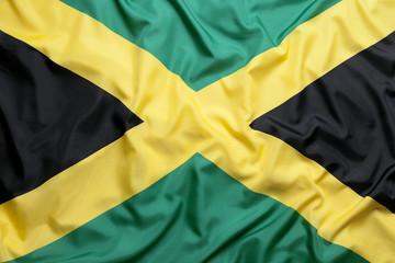 Textile flag of Jamaica