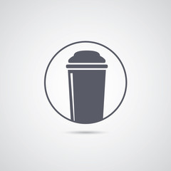 Coffee to go icon.