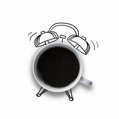 coffee morning alarm clock