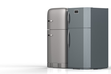 two style refrigerators