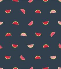 Melon seamless vector pattern