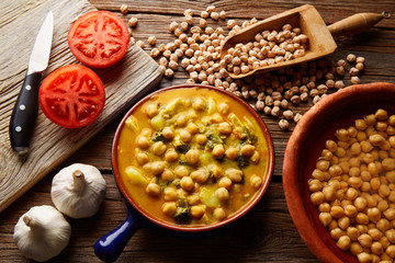 Potaje de Garbanzos chickpea stew Spain
