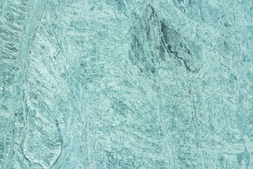 Green marble with pattern on surface.