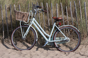 Bicycle in the dune