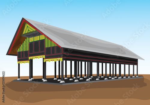 Rumah Padang Vector