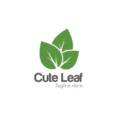 Leaf Logo Creative Concept Design Template