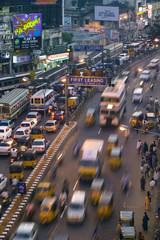 Anna Salai Road, Chennai (Madras), Tamil Nadu, India
