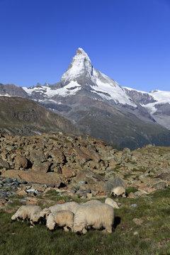 Switzerland, Valais, Zermatt, Matterhorn (Cervin) Peak