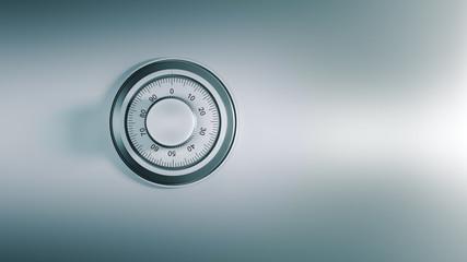 safe dial, security concept