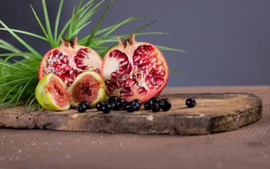 Pomegranate  fig and aronia