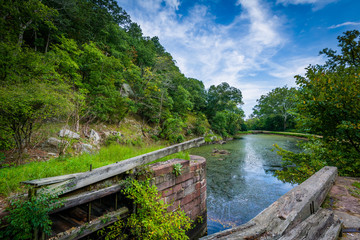 The C & O Canal, at Chesapeake & Ohio Canal National Historical