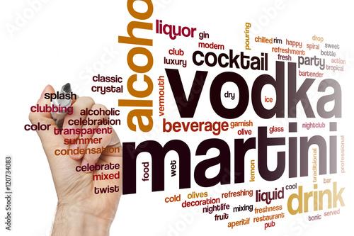 vodka martini word cloud stockfotos und lizenzfreie bilder auf bild 120734083. Black Bedroom Furniture Sets. Home Design Ideas