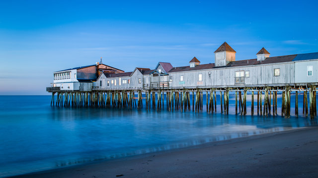 The Blue Hour at Old Orchard Beach