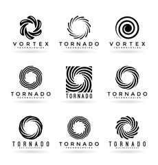 Abstract tornado symbols (1)