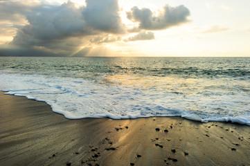 Sunset Ocean Rays
