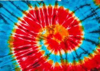 spiral tie dye design for background.