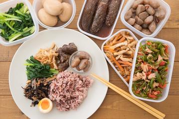 常備菜の和食プレート