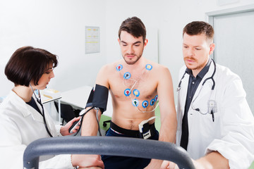 interpretation of the electrocardiogram of young athlete