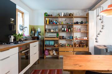 Kitchen in modern house