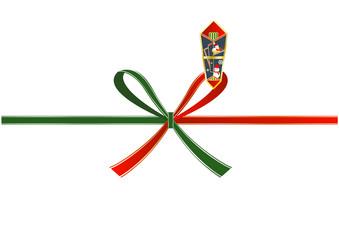 クリスマスバージョンの熨斗紙