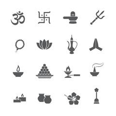 Hindu vector icon